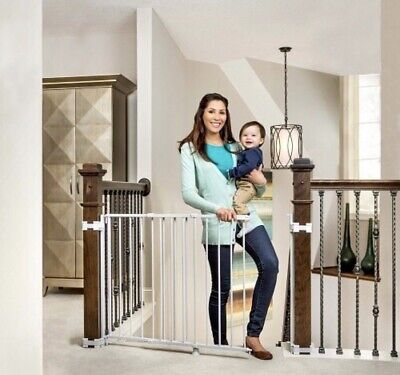 Regalo 2-in-1 Stairway and Hallway Wall Mounted Baby Gate, Bonus Kit, Include...