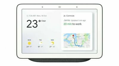 Google Home Hub with Google Assistant-Charcoal Grey-Mint