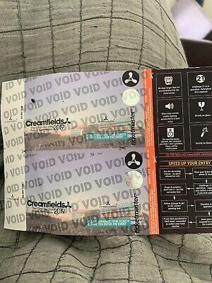 Creamfields Tickets 2019 - 3 Day Standerd Camping Ticket
