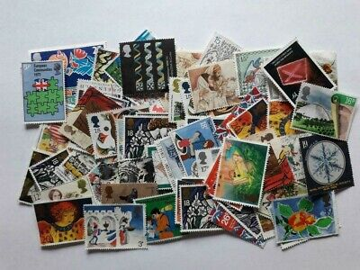 £10 Face Value Unfranked Lower Value Stamps Off Paper With Very Slight Faults