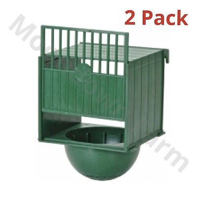 2 x Canary External Nest Pans For Cage Fronts - Nesting Canaries, Aviary Birds