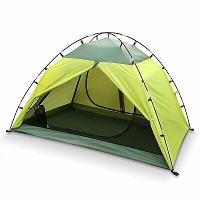 INTEY Outdoor Dome 2 Person Green Waterproof Camping Tent