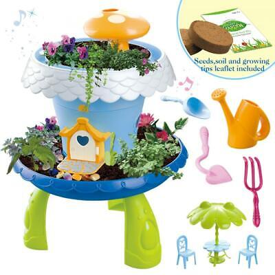 deAO Fairy Tale DIY Miniature Gardening Magical Cottage Play multicoloured