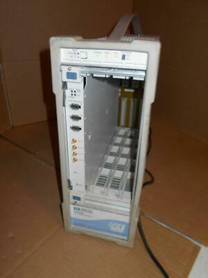 HP Agilent E8408A VXI Mainframe with E8491B Modules ~