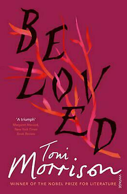 Beloved: A Novel by Toni Morrison Paperback Book Free Shipping!