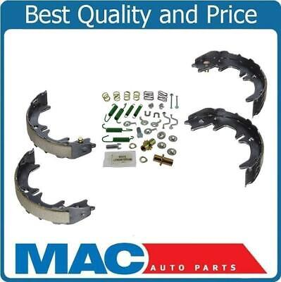 Rear Emergency Parking Brake Shoe Set With Springs Fits 99-03 Lexus RX300