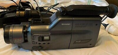 Video Camera Sharp VHS-c, VHSc, VHS c Video Camera