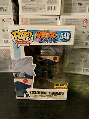 Funko Pop! Anime: Naruto Shippuden - Kakashi (Lightning Blade) Hot Topic Exclu