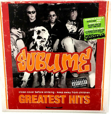 SUBLIME Greatest Hits 2x YELLOW VINYL w/ flexi 2018 NEW SEALED  RSD BLACK FRIDAY