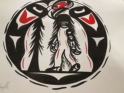 2008 Anthony Joesph Signed Native Art