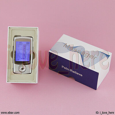 TENS Unit Machine 16 Mode Massager Pain Relief Therapy Dual Channel Stimulator