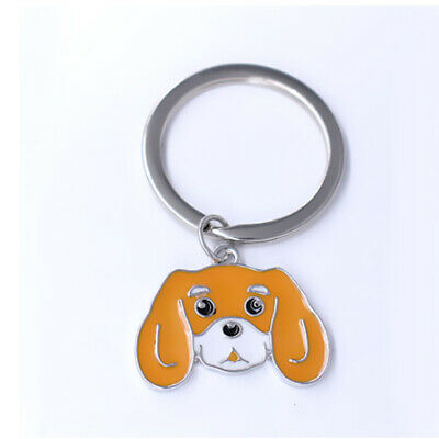 Cavalier King Charles Spaniel Key Ring 2 colors to choose from