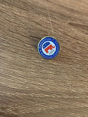 "2004 1"" Republican National Committee Pin"
