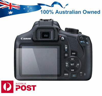 Pro Tempered Glass Screen Protector for Canon EOS 1300D 1500D DSLR Camera