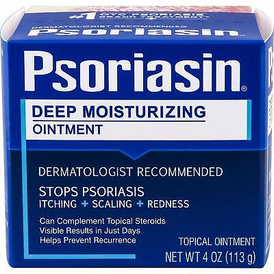NEW! Psoriasin Multi-Symptom Psoriasis Relief Ointment 4 Ounce