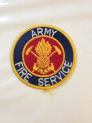 Army Fire Service (RAE) Patch