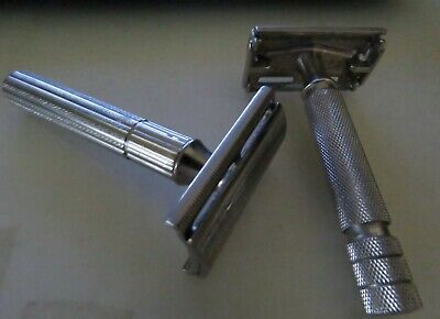 2 X Vintage Safety Razors Gillette Made In England