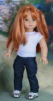 "Gotz Doll Retired 18"" 2002-2003 Precious Day Julia Redressed in Gotz Outfit"