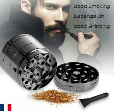 4-couches 40MM Herb Grinder Spice Weed / Broyeur à fumée de tabacFr