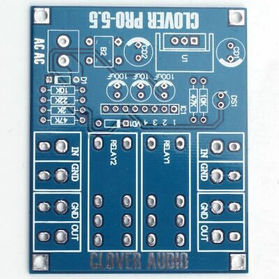 Dual OMRON Relay 7812+UPC1237 Speaker Protection Board Kit for HIFI DIY AC D6A4