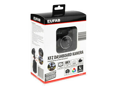 Eufab KFZ Dashboard Kamera Full-HD LCD  Autokamera Carcam Autocam Video