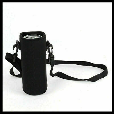 Insulated Water Bottle Shoulder Cover Drink Bag Pouch Strap Insulation Cup Set