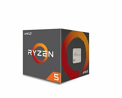 AMD Ryzen 5 2400G, 4 Core AM4 CPU, 3.9GHz 6MB 65W Wraith Stealth Cooler Fan