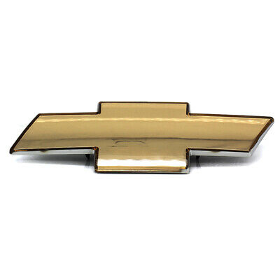 Fits To Chevrolet Silverado 1999-2006 Grille Emblem Front Grill Gold Badge