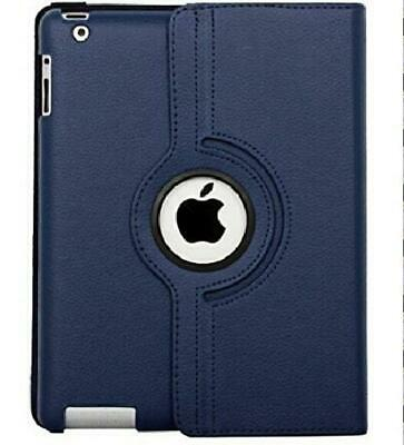 Ipad Case 360 Degrees Rotating Stand Leather Magnetic Smart Cover Case For Ipad