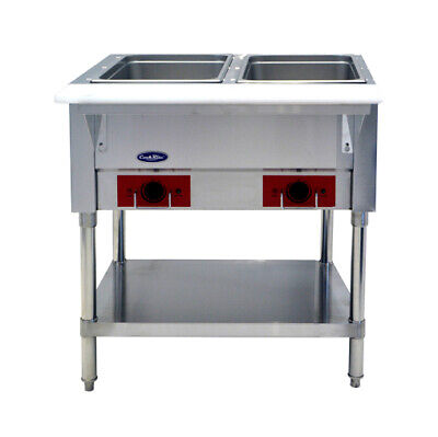NEW! CSTEA-2 Electric Hot Food Steam Table 2 Well