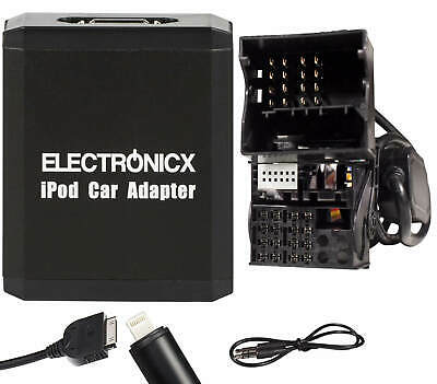 Adapter AUX für iPhone 5 6 7 8 XR iPod iPad Lightning CD Wechsler BMW Mini Land