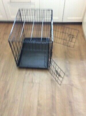 Small Dog/Puppy Crate/ Cage Two Door