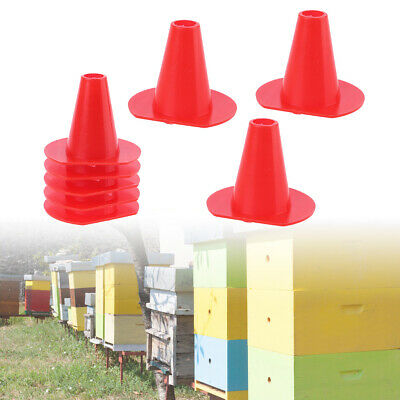 50Pcs Beekeeping Tool Cone Plastic Escape Beehive Nest Door Bee In Out Control