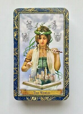 Wizards' Tarot Deck of cards, complete