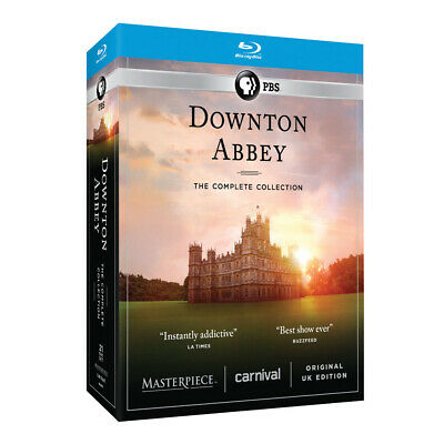 Downton Abbey: The Complete Series - Unedited UK Edition Blu-Ray Region A (USA)