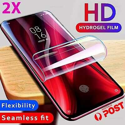 2x HYDROGEL Screen Protector for Samsung Galaxy S9 S8 S10 Plus Note 10 8 9 s2