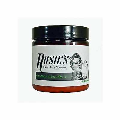 Rosie's Green Spinning Wheel & Loom Wax