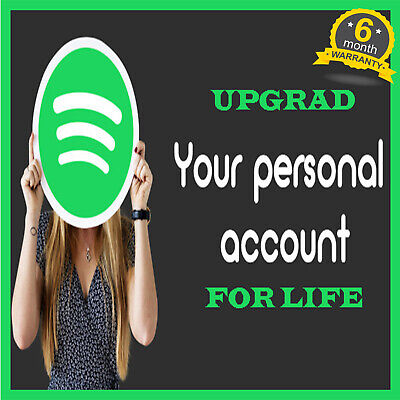Spotify Premium | Upgrade Your Own Account LIFETIME WARRANTY | PRIVATE -SUPPORT
