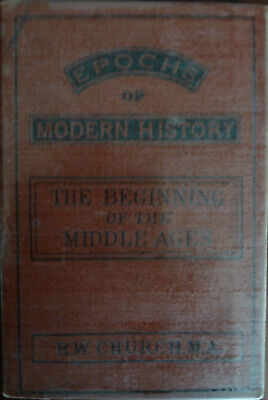 Epochs Of Modern History The Beginning Of The Middle Ages Rare