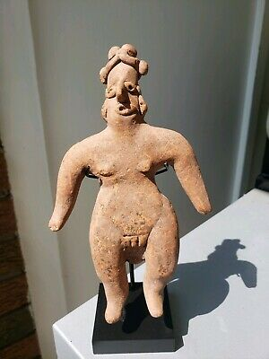 Large COLIMA Standing Figure, Precolumbian, Mayan Jalisco MAKE AN OFFER