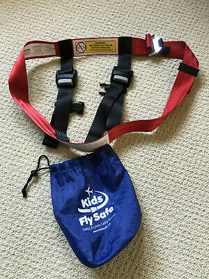 Kids Fly Safe airplane safety harness for Children. FAA approved