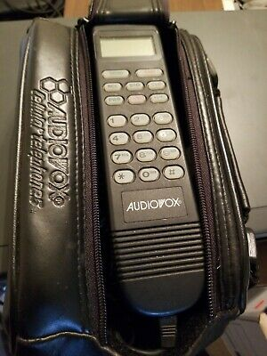 Vintage Cell Phone, Toshiba / Audiovox Model CMT-420, Car Mobile Phone. No anten