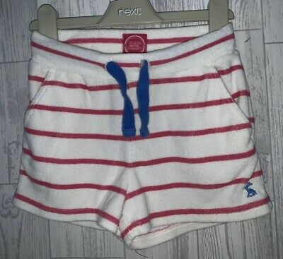 Girls Age 5-6 Years - Joules Towelling Shorts