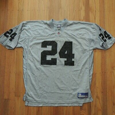 newest collection ef6b1 96ea0 REEBOK OAKLAND RAIDERS CHARLES WOODSON nfl THROWBACK Jersey ...