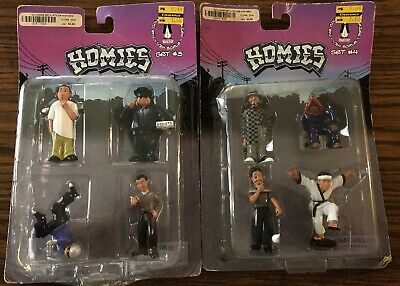 Scale 1:24 NEW Homies Set# 4 in Blister Card
