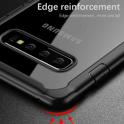 For Samsung Galaxy S10 Note 10 Plus S9 S8 Case Shockproof TPU+PC Armor Cover US