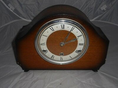 Bentima perivale art deco mantle clock spares / repairs