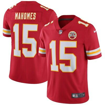 Men's Patrick Mahomes Kansas City Chiefs NFL Football Limited Vapour Red Jersey