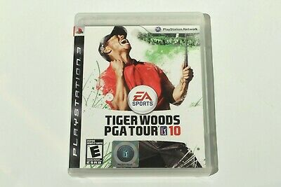 Tiger Woods PGA Tour 10 (PS3 / PlayStation 3) Complete with Manual - Tested