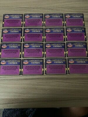Alton Towers Priority Passes X16